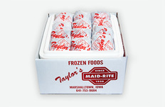 One Dozen Maid Rite Sandwiches